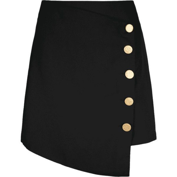 High Waist Button Up Asymmetric Skirt ($23) ❤ liked on Polyvore featuring skirts, button up skirt, high-waisted skirt, high-waist skirt, high waisted button up skirt and high rise skirts