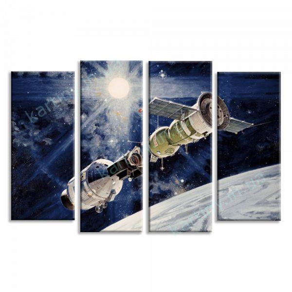 Картина Космическая станция