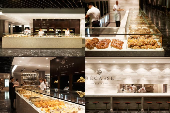 Bécasse Bakery, Sydney, Australia //   The chic, French-inspired Bécasse Bakery is located in the new Westfield Shopping Centre in Sydney, Australia.