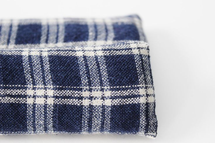 Sleep Aid, Lavender Relaxation Sachet, Rustic Bedroom Decor, Navy Blue Tan Plaid by Gardenmis on Etsy www.etsy.com/…