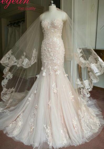 Best 25 blush wedding dresses ideas on pinterest blush for Pink champagne wedding dress
