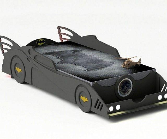 DIY Batmobile Bed | Batmobile, Beds and DIY and crafts
