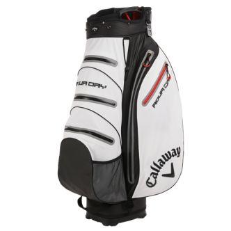 Bolsa de golf Callaway Aqua Dry para carro. La bolsa para palos de golf Aqua Dry de Callaway es una bolsa para carro que mantiene todos tus elementos secos y seguros en cualquier condición, llueva o haga sol