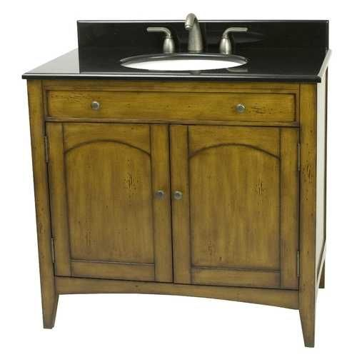 11 best distressed bath vanity images on pinterest bath - Bathroom vanities nebraska furniture mart ...