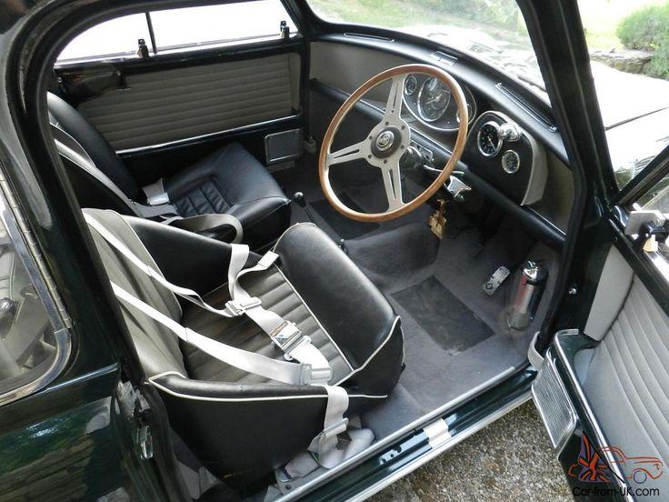 Austin Mini Cooper S Mk1 1965 Speedwell Les Leston Downton Alexander