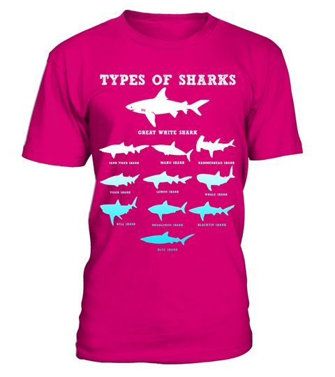 """# 11 Types of Sharks Marine Biology T-Shirt .  Special Offer, not available in shops      Comes in a variety of styles and colours      Buy yours now before it is too late!      Secured payment via Visa / Mastercard / Amex / PayPal      How to place an order            Choose the model from the drop-down menu      Click on """"Buy it now""""      Choose the size and the quantity      Add your delivery address and bank details      And that's it!      Tags: Now geeks and nerds can educate beach…"""