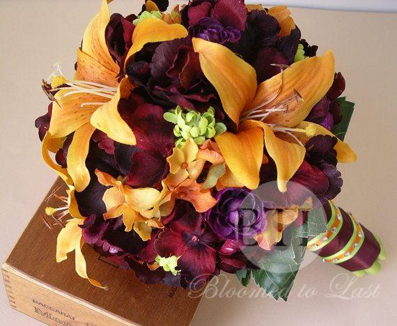 79 best Purple & Orange Wedding images on Pinterest | Purple ...