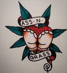 A cute tattoo idea for a weed lover. #tattoo #stoner #marijuana #weed #sketch #art #cannabis #inked #ass