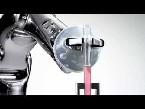 The new VS-050-S2. Specialised robot for the pharmaceutical and medical industries. - YouTube