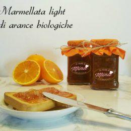 Marmellata light di arance biologiche