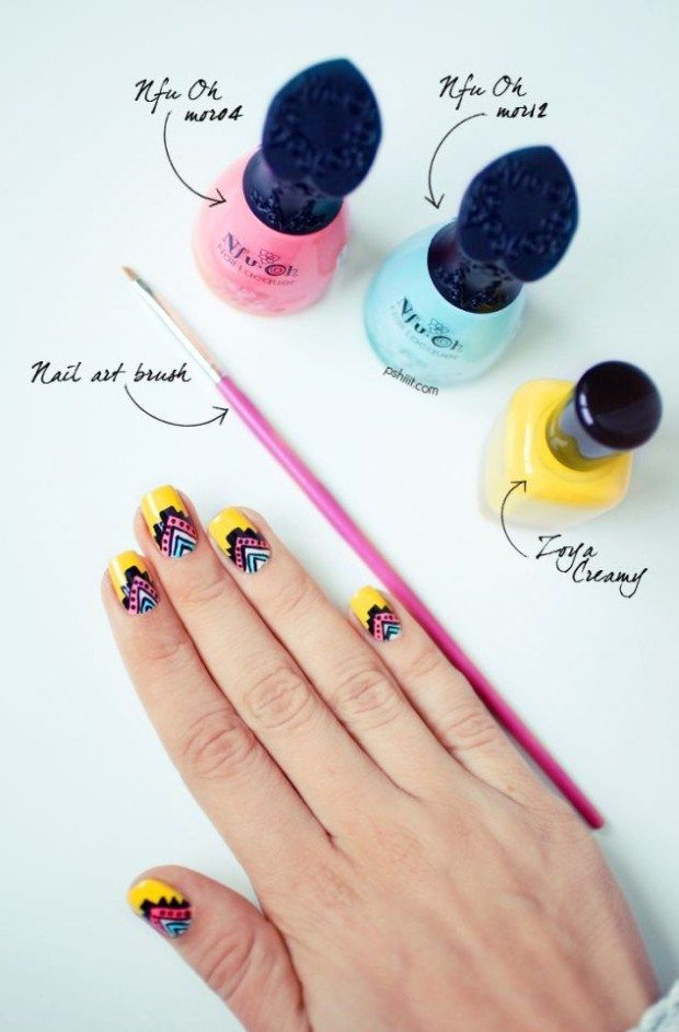 Trendy Summer Nails 2014