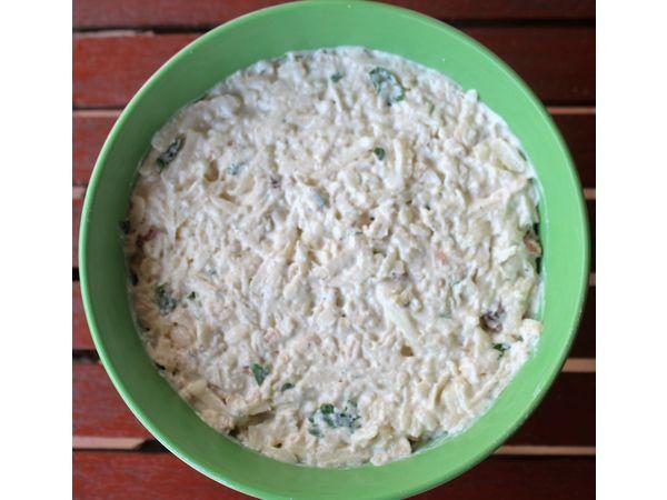 Salata de telina cu pui si maioneaza - Bucataria cu noroc