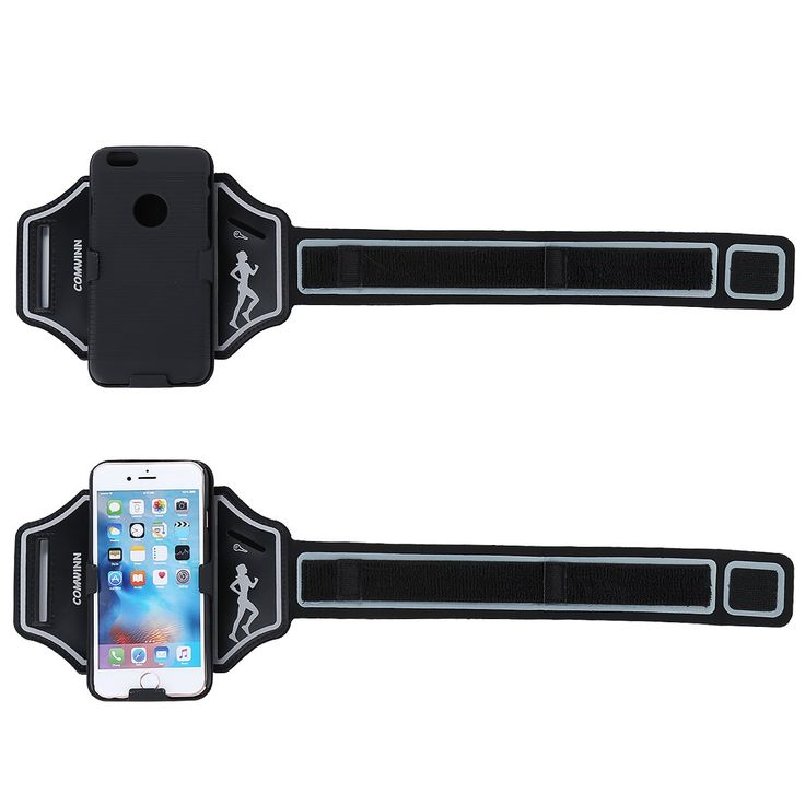 "Comwinn Sports Armband with Key Holder + iPhone 6/6S Case for iPhone 6, 6S (4.7-Inch) (Black). ★FREE IPHONE 6/6S (4.7"") ★ 100% MONEY BACK GUARANTEE: If For Whatever Reason You Don't Absolutely Love Your Comwinn Armband, Just Return It And We Will Refund Every Penny Or Replace It, No Questions Asked. ★ QUALITY MATERIALS: Our Armband Is Made Of The Highest Quality Soft Neoprene That Is Made To Flex, Twist, And Bend But Not Stretch Out Of Shape. It Can Stand Up To The Toughest Of Workouts…"
