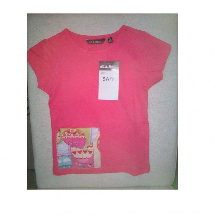 T shirt pour pompe insuline rose | Lcréation