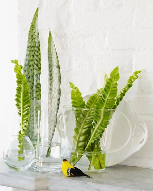 Sweet Paul Crafty Friday: Decorating with Leaves & Fronds