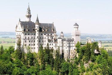 Fusssen, Germany, Schloss Neuchwanstein Castle