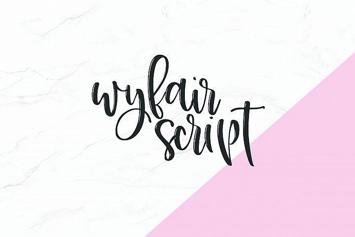 Wyfair Script Best Script Fonts Script Script Font Style