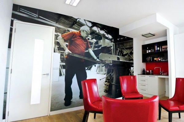 Custom Digital Print Wallpaper - Mr Cabinets showroom