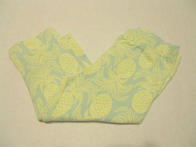 Girls Leggings Pants Sz 3T Capri Length Old Navy Pineapple Print Baby Toddler