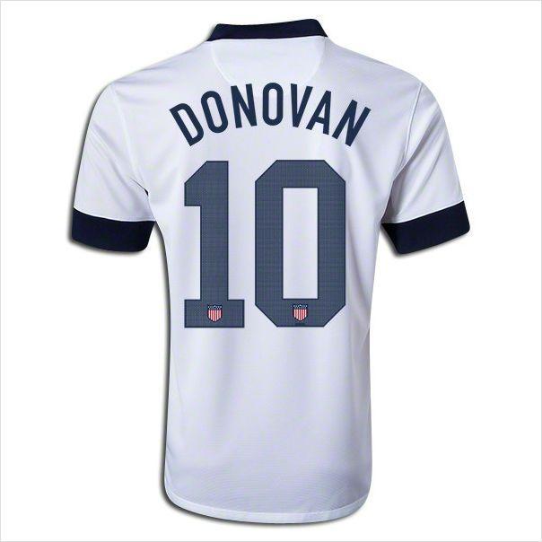 2c8314473 Landon Donovan - Youth Kids 2013 USA Landon Donovan Centennial Home Soccer  Jersey and Shorts Set 820103337403 on eBid NIKE ...