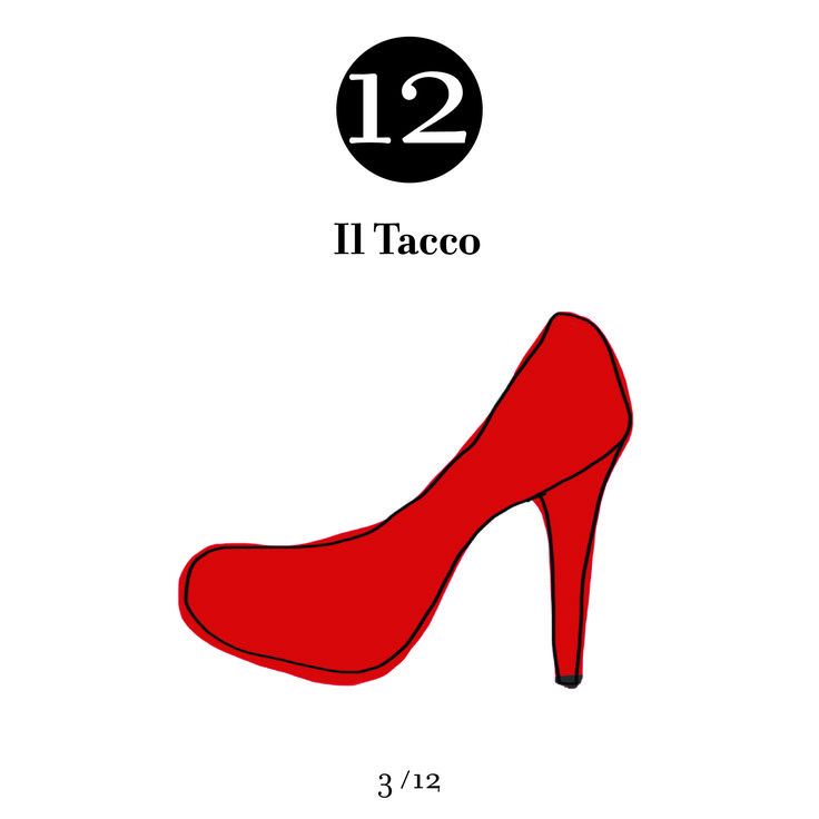 12 centimeters it's the measure of the most popular high heels. Sophisticate and seductive: a chic and provocative shoe