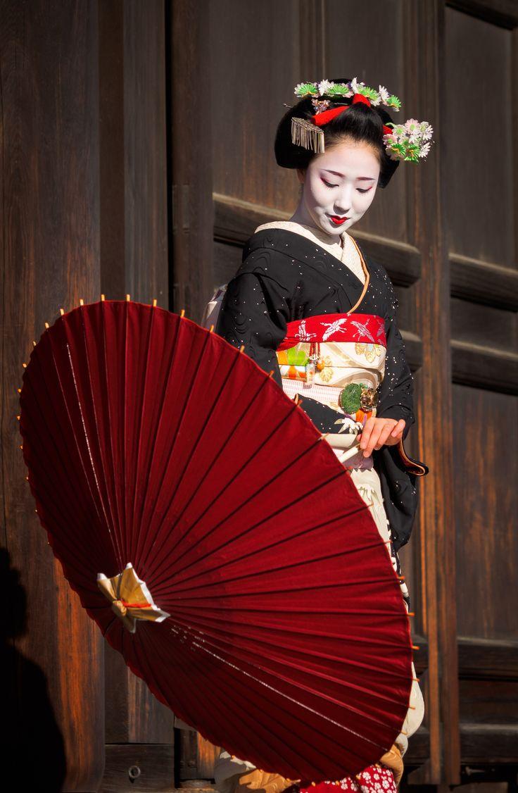 maiko 舞妓 Gion Kobu 祇園甲部 mamefuji まめ藤 KYOTO JAPAN