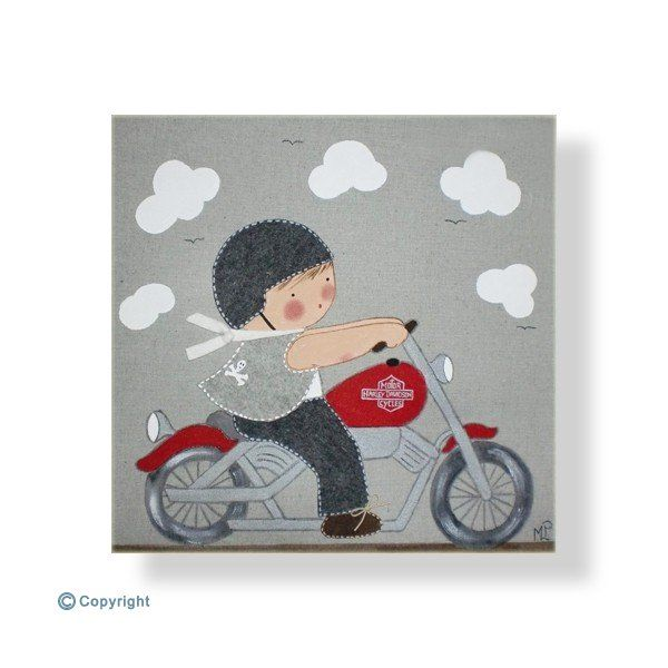 Deco Chambre Bois Blanc : Tableaux pour enfants personnalisés avec le prénomPetit garçon en