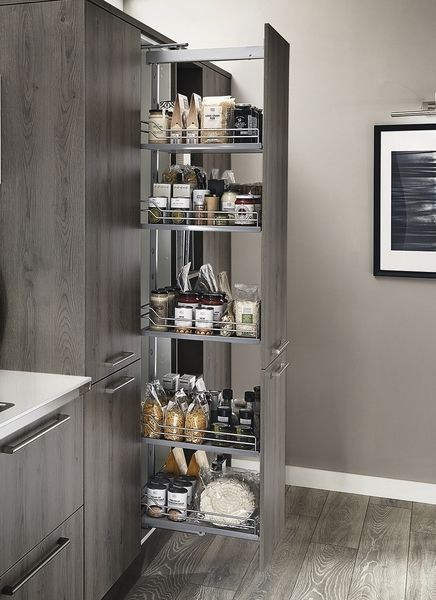 Upgrade full-height pull-out larder