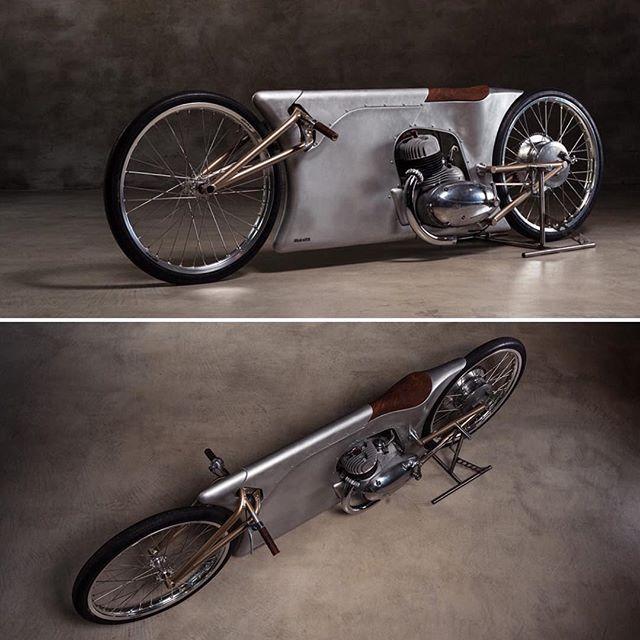 Mind-blowing. @urbanmotor URBAN MOTOR'S JAWA SPRINT MOTORCYCLE. (Via Bike EXIF)…