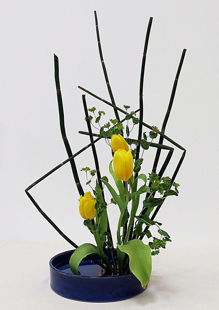Tissu Decors Fleurs Japonaises