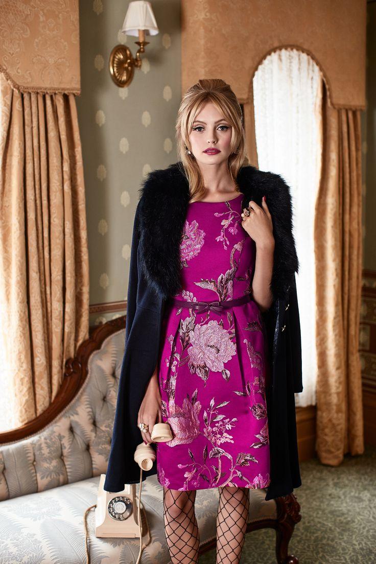 Chateau Rose Dress | Minorca Coat