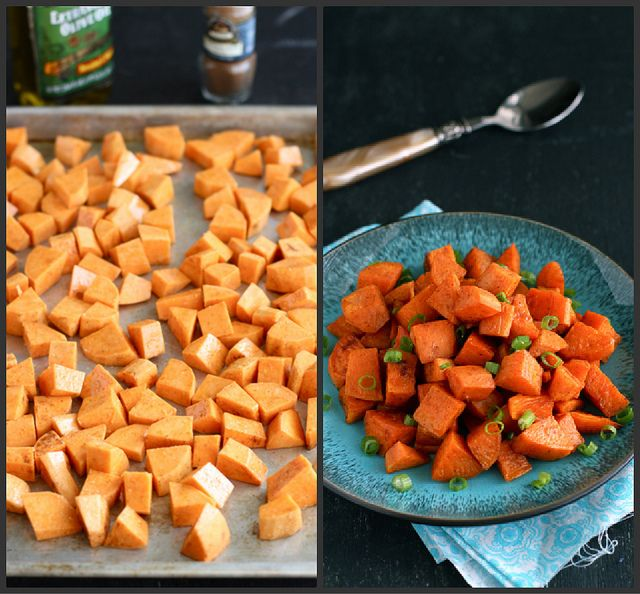 Roasted Sweet Potatoes Recipe with Chinese Five-Spice Powder - #paleo