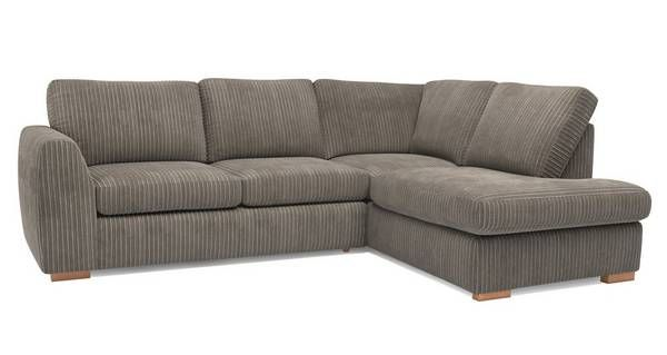 Bruno Left Hand Facing Arm Open End Corner Sofa Marley Dfs With Images Corner Sofa Sofa 2 Seater Corner Sofa