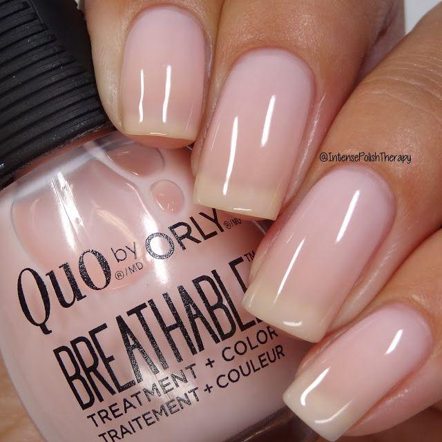 Quo By Orly Kiss Me I M Kind In 2020 Orly Nail Polish Colors Nail Polish Sheer Nails