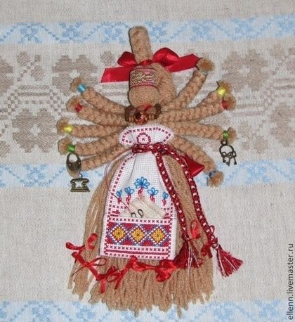 """Кукла-оберег """"Десятируча"""" по мотивам народной - народная кукла,оберег"""