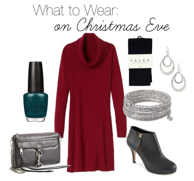 What to Wear on Christmas Eve by Jo-Lynne Shane. #12daysofholidayoutfits