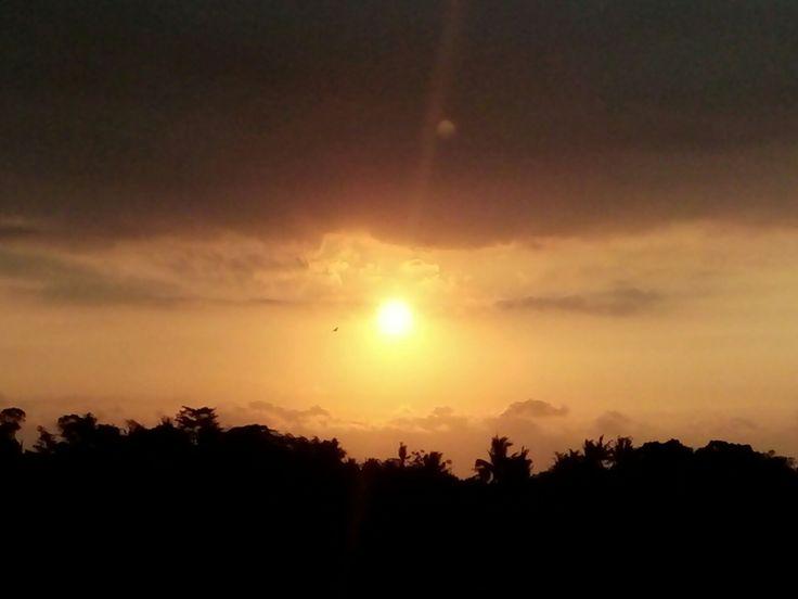 Sunset..  Bye sun see u tomorrow
