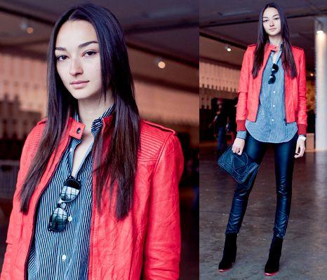 en son moda Deri Ceket ve Bot Kombinleri | 2015/2016 kış modası ...