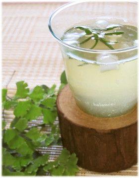 ローズマリー緑茶 by ぽんずー [クックパッド] 簡単おいしいみんなの ...