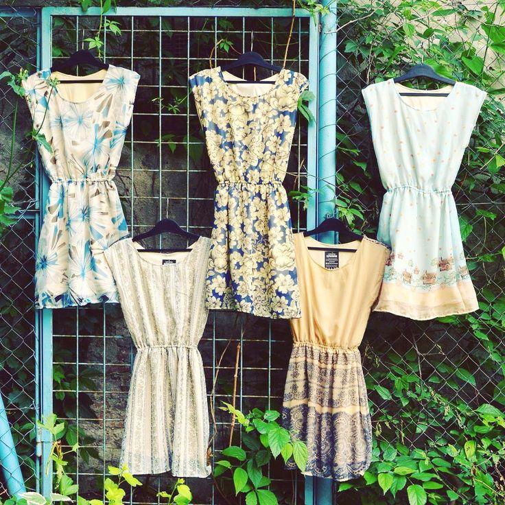 Vad romantika  #szputnyik #szputnyikshop #budapest #vintagestyle #newcollection #summer #dress #selection #ss16 #romantic #vibes #pastel #colours #blue #beige #floral #patterns #cutelook