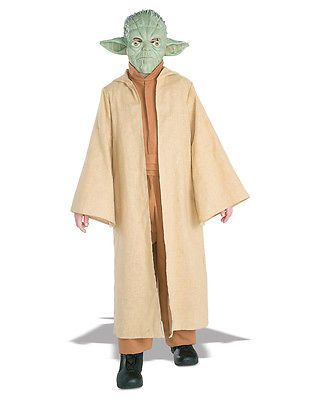 """Star wars kids yoda #costume #style 3, #large, age 8 - 10, height 4' 8"""" - 5',  View more on the LINK: http://www.zeppy.io/product/gb/2/201642057485/"""