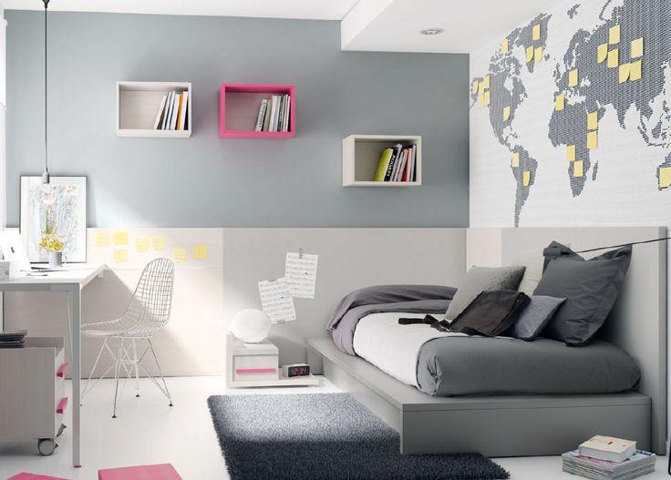 17 mejores ideas sobre dormitorio montessori en pinterest for Recamaras juveniles con escritorio