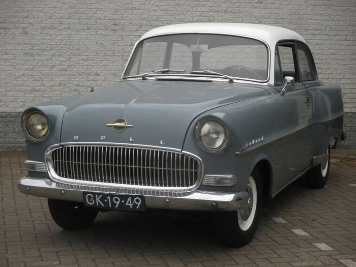 Pin Op Opel Rekord 1 5