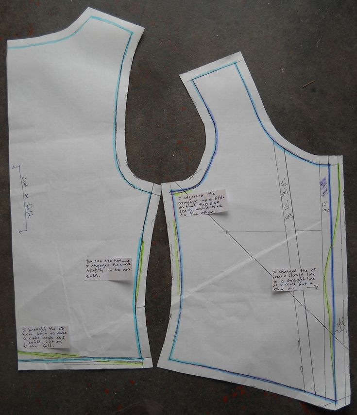 Duct Tape Corset Pattern Instructions (Good, detailed instructions on how to create a pattern. The notes on the final picture will really help with tweaking it. ^mm) A printable version: http://sarahbeata.files.wordpress.com/2010/03/duct-tape-corset-pattern.pdf