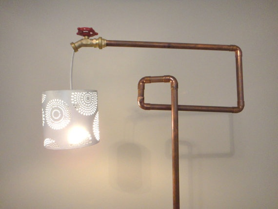 582 best images about copper pipe creations on pinterest for Copper pipe projects