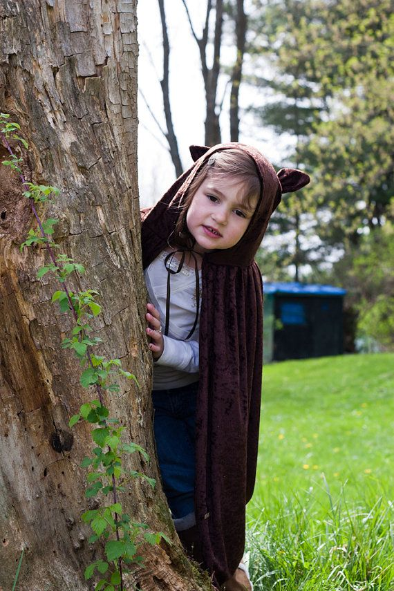 Handmade Cape Big Bad Wolf  Werewolf Costume Child Boy Girl. $25.00, via Etsy.