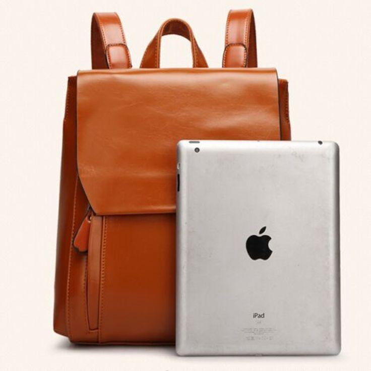 Luxury Brand Woman Bag Black PU Leather backpack for teenage girls casual backpacks school bag students ladies travel bags