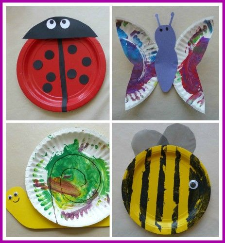 Paper Plate Bugs: Bugs Crafts With Paper Plates, Kids Stuff, Butterflies, Preschool Teacher, Plates Bugs, Kids Crafts, Paper Plates Crafts, Bugs Preschool Crafts, Cocktails