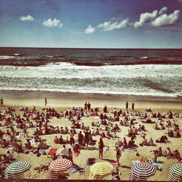Grade La Plage - Biarritz, France. Glad its summer in the southwest!