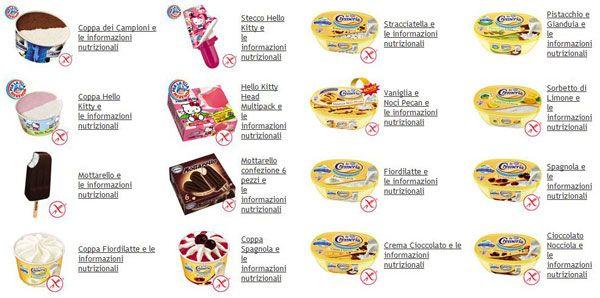 Gelati Senza Glutine: i gusti Motta e La Cremeria per celiaci